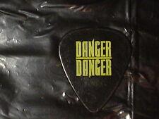 DANGER DANGER Logo & Bruno Ravel Face RaRe 1990's Concert Tour GUITAR PICK