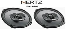 "Hertz uno X690 - 6""x9"" 4-Way Coche Coaxial Audio Altavoces Estante 340W"