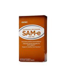 GNC SAMe 400 MG 30 Enteric Coated Tablets