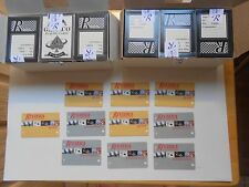 VEGAS RIVIERA  24 USED CARD DECK PHOTO 10 SLOT GOLD PLATINUM NEVADA HOTEL CASINO