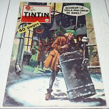 TINTIN 24/12 1959 583 HERGE TIBET DICKENS LEFRANC CHIENS D'AVALANCHES CHICK BILL