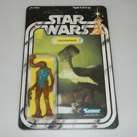 *RECARDED* 1978 Star Wars Hammerhead Figure Complete Sealed *CUSTOM Card Back*