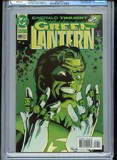 Green Lantern V3 #49 CGC 9.8 White Pages Sinestro