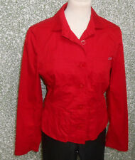 20 7100 Taifun Collection Donna Marche Giacca Blazer Estate Tgl 36 rosso