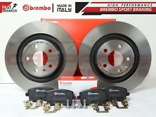 FOR AUDI A4 A5 S4 S5 Q5 08-11 REAR GENUINE BREMBO VENTED BRAKE DISCS PADS 330mm