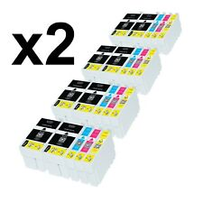 40 Tinta 27XL COMPATIBLE WorkForce WF 7620DTWF WF 7610DWF WF 7110DTW WF 3640DTWF