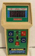1978 Vintage Coleco Electronic Quarterback Handheld Football Game TESTED Works