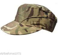 NEW - MTP Multicam Army Issue Peaked Combat Cap Hat - Size 57 cm