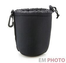 Objektiv Köcher Tasche Beutel Neopren Lens Case Gr. M für Standard-Zoom  Z-0435