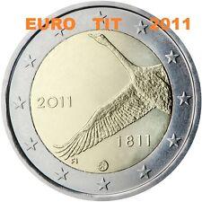 2 €   FINLANDE  1   X  COMMEMORATIVE     2011      BANQUE  DE  FINLANDE   2011