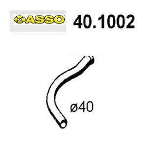 TUBO GAS DI SCARICO ANTERIORE RENAULT R4 - RODEO 4 ASSO PER 7700578443