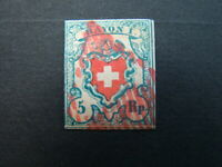 Antique Switzerland stamp postal ephemera letters old stamp collecting philately