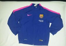 Barcelona track top  for boys size 8-10 years  Nike