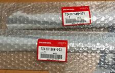 72410-S6M-003 72450-S6M-003 02-06 RSX OEM HONDA DOOR WINDOW BELT MOLDINGS PAIR