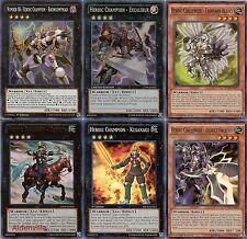 Yugioh Heroic Deck - Excalibur, Gandiva, Kusanagi, Rhongomyniad, Thousand Blades