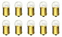 CEC Industries #81 Bulbs, 6.5 V, 6.63 W, BA15s Base, G-6 shape (Box of 10)