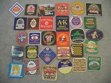 Vintage Beer Mats Set of 30 Different Pub Mat Brewery Advertising Breweriana
