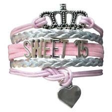 Quince Bracelet- Girls Sweet 15 Jewelry - Quinceanera Bracelet- Perfect Birthday
