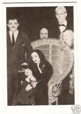 The Addams Family  1960s TV Show Card John Astin Carolyn Jones Jackie Coogan
