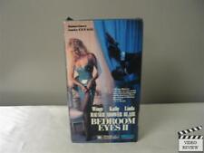 Bedroom Eyes 2 (VHS, 1991) Wings Hauser Linda Blair