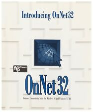 Introducing OnNet 32 Version 2.0 by FTP Software 1996