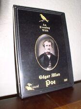 An Evening With Edgar Allan Poe (DVD, 2000,NEW)