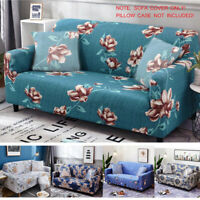 1 2 3 4 Seater Stretch Sofa Cover Elastic Tight Wrap Slipcover Couch Protector