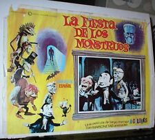 MAD MONSTER PARTY?,1967, 3 Original Lobby Cards,Rankin/Bass,Animagic Stop Motion