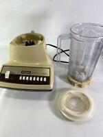 Vintage Waring Yellowed Nova 1 Series Model  12 BL 93 Blender 14 button tested