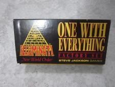 ** FACTORY SET + ASSASSINS SET * Illuminati INWO Card Game * NEW WORLD ORDER **