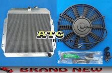 FOR 1960-1962 CHEVY C/K SERIES C10-C20 TRUCK PICKUP ALUMINUM RADIATOR & FAN