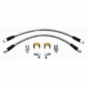 "Wilwood 220-7056 Brake Hose Flexline Kit 14"" Length -3 Female Inlet Fitting"