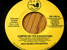 """Riche Szabo ORCHESTRA-Jumpin sur le kiosque 7"""" vinyle"""
