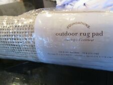 Pottery Barn outdoor rug pad 29 107  New in package