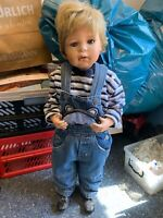 Inge Tenbusch Porzellan Puppe 73 cm. Top Zustand