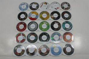 Lot of 25 PSP UMD Movies - Click, The Grudge, Ghostbusters