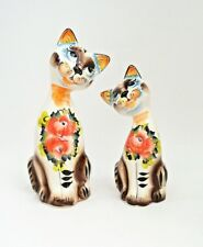 RUSSIAN GZHEL PORCELAIN FIGURINES SWEET COUPLE - CATS