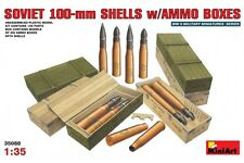 Miniart 35088 1/35 Soviet 100-mm Shells w/Ammo Boxes