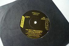 """NEW YORK BLONDES & MADAME X Little G.T.O 7"""" Bomp HLZ 10574 Blondie Debbie Harry"""