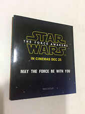 STAR WARS FORCE AWAKENS 2015 RARE INDIA COLLECT PROMO KID GAME PUZZLE BOOK