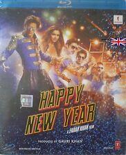 HAPPY NEW YEAR - SHAHRUKH KHAN - NEW BOLLYWOOD BLU-RAY DISC - FREE UK POST