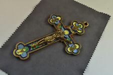 antikes Kreuz bunt emailliert und datiert AD 1863