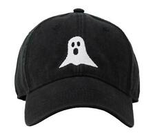 Harding Lane Ghost Halloween on Black Hat Strapback Adjustable NEW