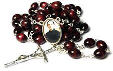 Gemma Umberta Galgani large cherry relic rosary Student pharmacists tuberculosis