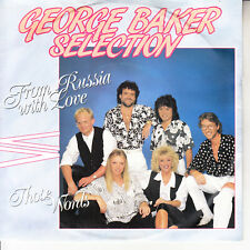 """GEORGE BAKER SELECTION From Russia With Love PICTURE SLEEVE 7"""" 45 rpm record NEW"""
