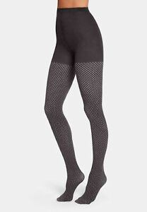 Wolford Fides Tights Stockings Patterned Cotton Tights