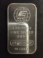 1981 Engelhard Industries Commercial Silver Art Bar EI-10 A4521