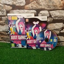 Just Dance 4 Nintendo Wii Complete Free P&P