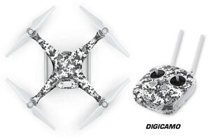 DJI Phantom 4 Drone Wrap RC Quadcopter Decal Sticker Custom Skin Accessory DC W
