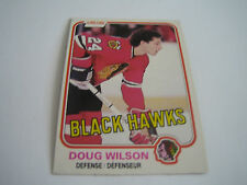 1981/82 O-PEE-CHEE HOCKEY DOUG WILSON CARD #66**CHICAGO BLACK HAWKS**
